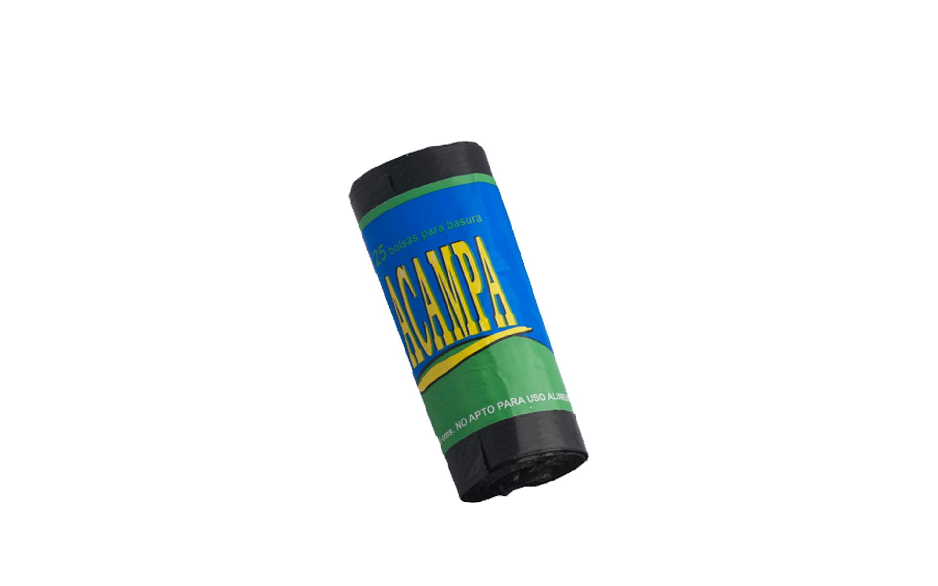 Bolsa basura ACAMPA 54x60