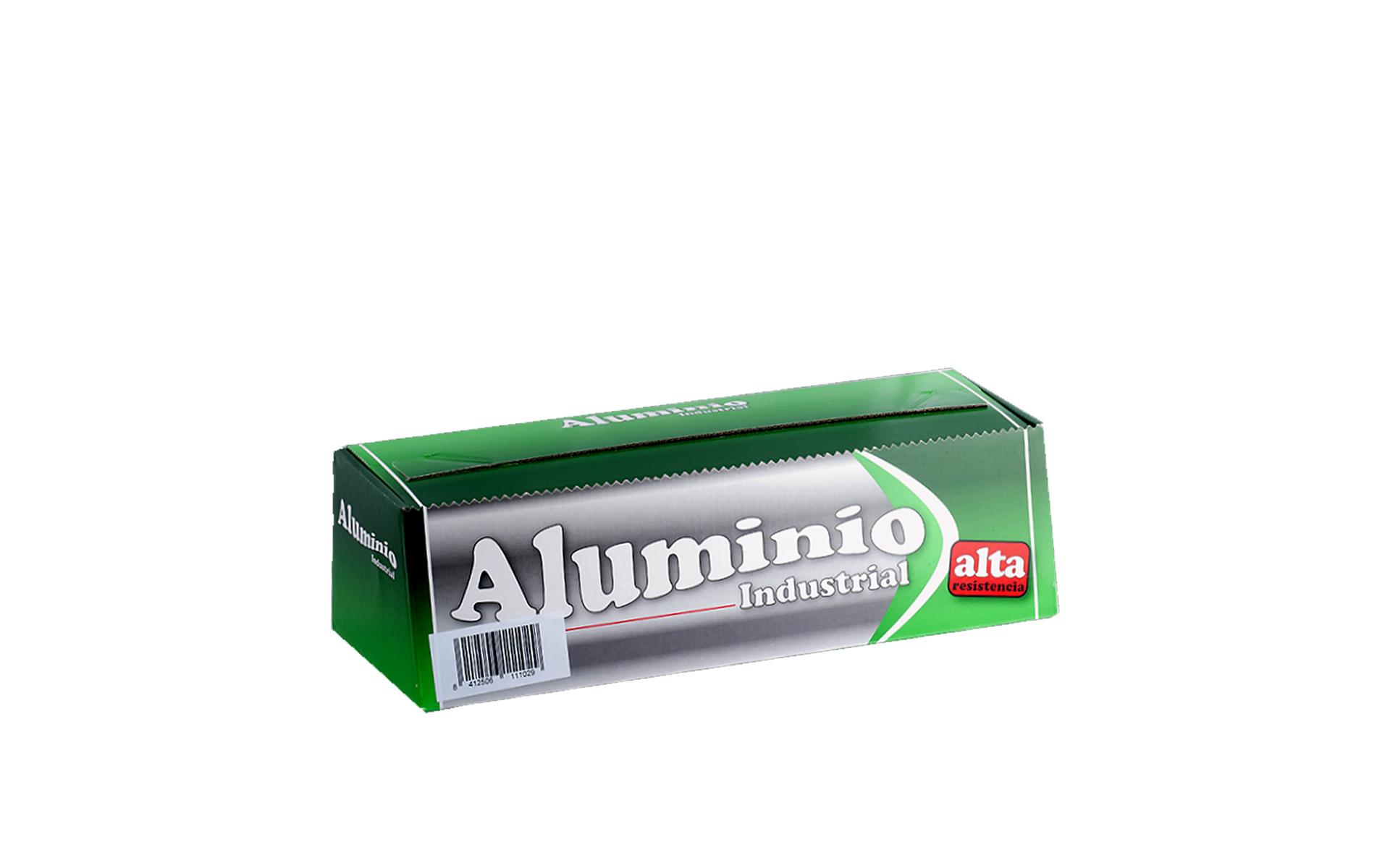 Rollo de Aluminio Industrial 290 mm.