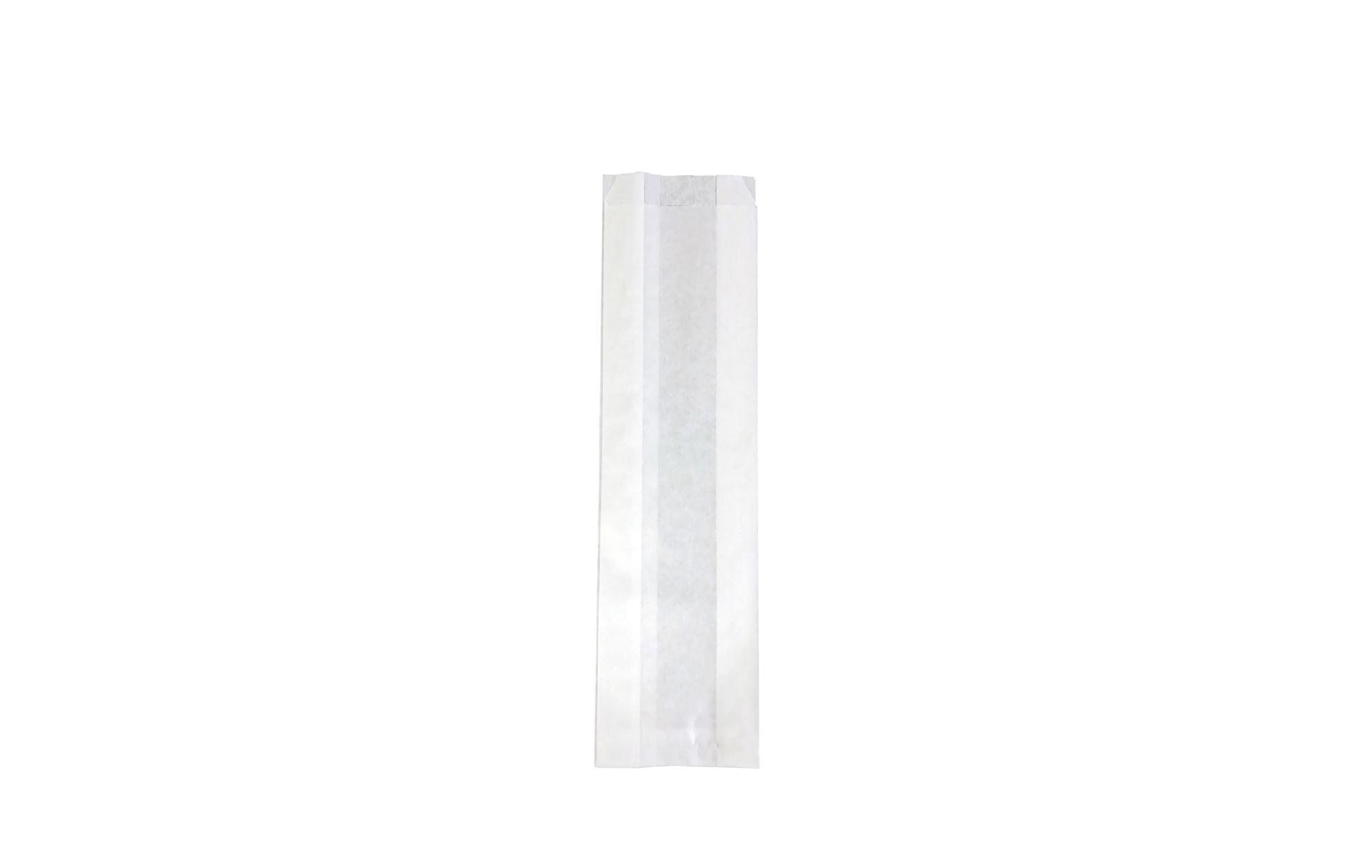 Bolsa blanca fuelle 9x34