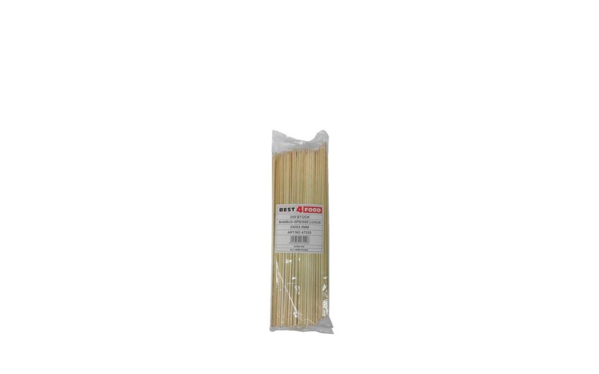Pinchos bambú 25