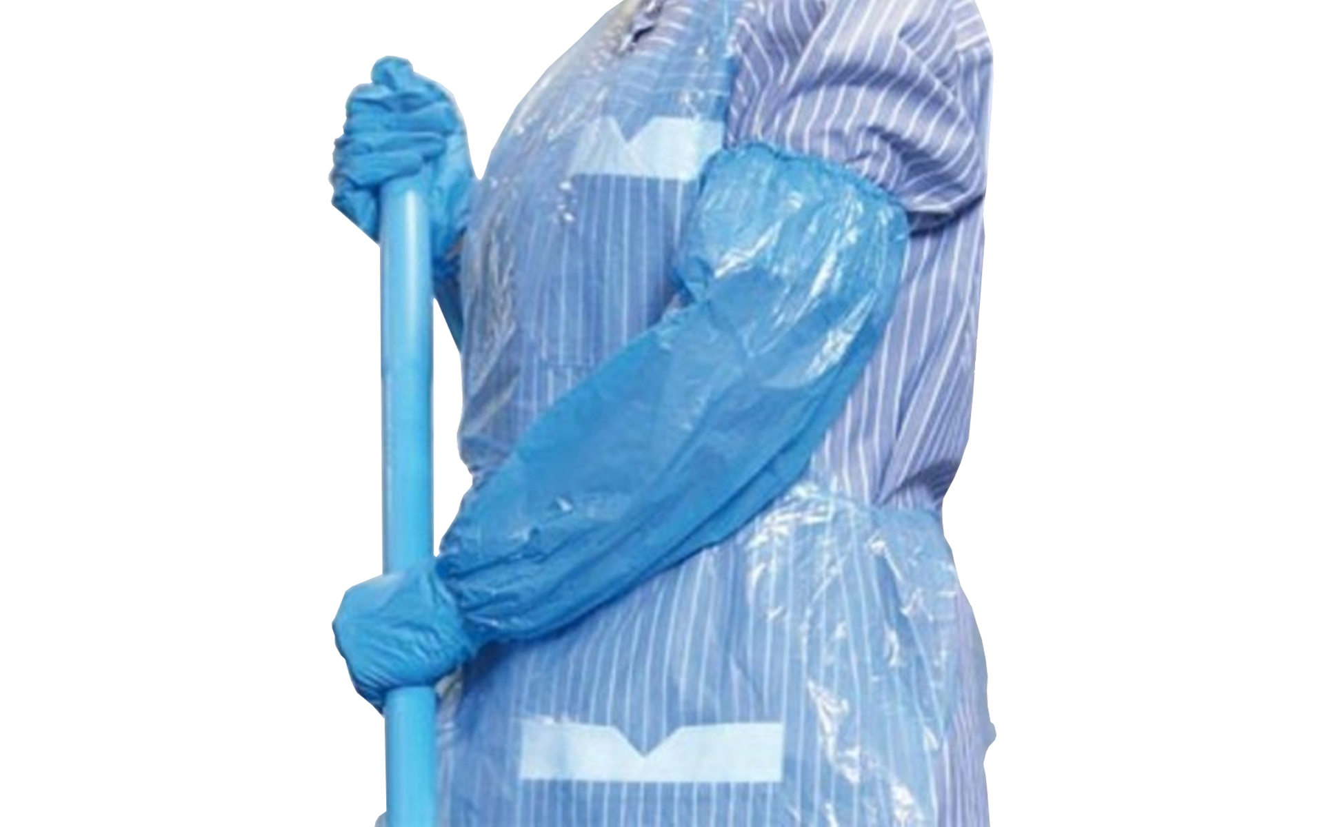 Manguito azul