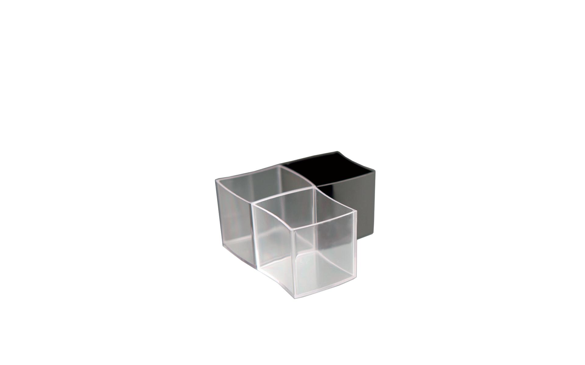 Cubo transparente
