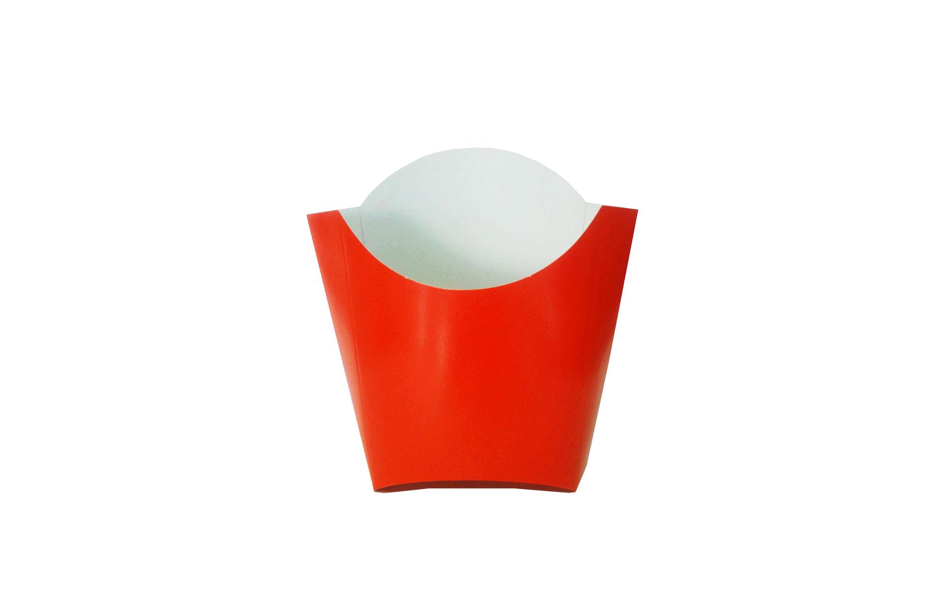 Envase papas rojo