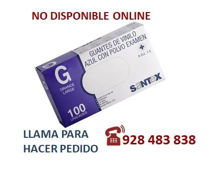 Guante vinilo azul  G - SÓLO PEDIDO TELEFÓNICO