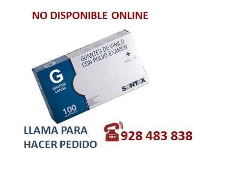 Guante vinilo G - SÓLO PEDIDO TELEFÓNICO