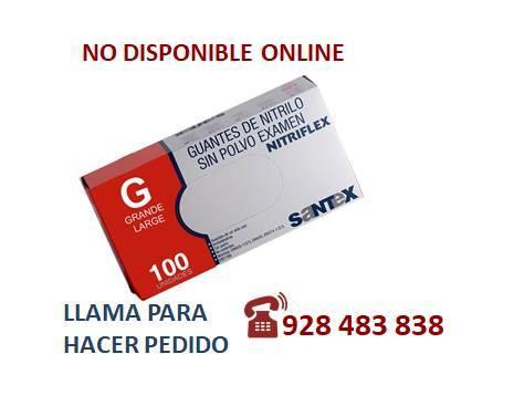 Guante nitrilo azul G - SÓLO PEDIDO TELEFÓNICO
