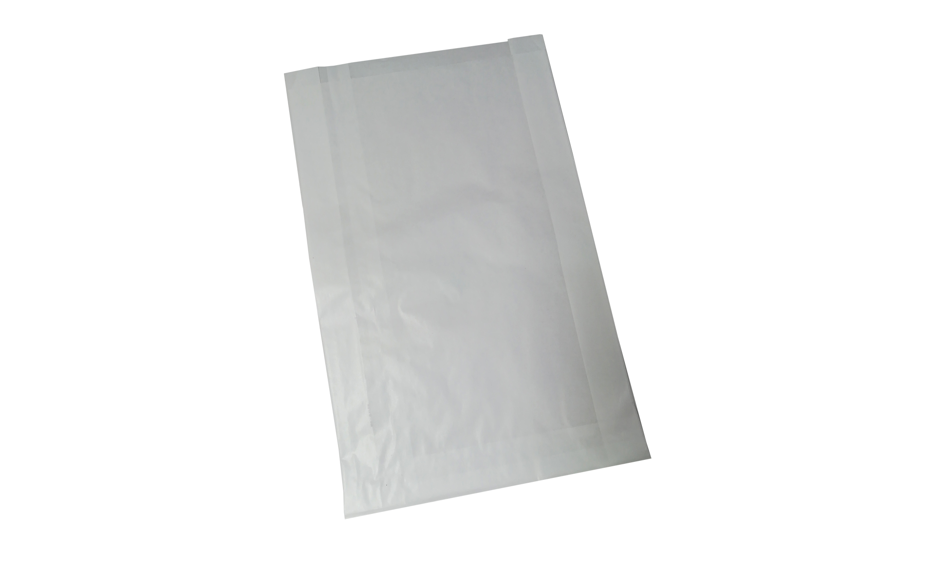Bolsa blanca fuelle 25x41