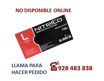 Guante nitrilo negro G - SÓLO PEDIDO TELEFÓNICO