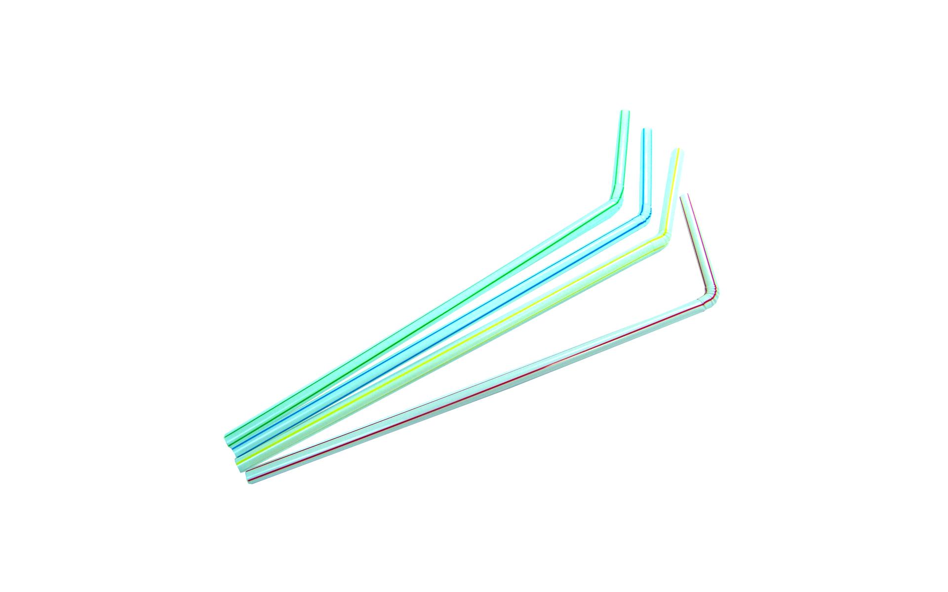 Caña flexible rayas colores