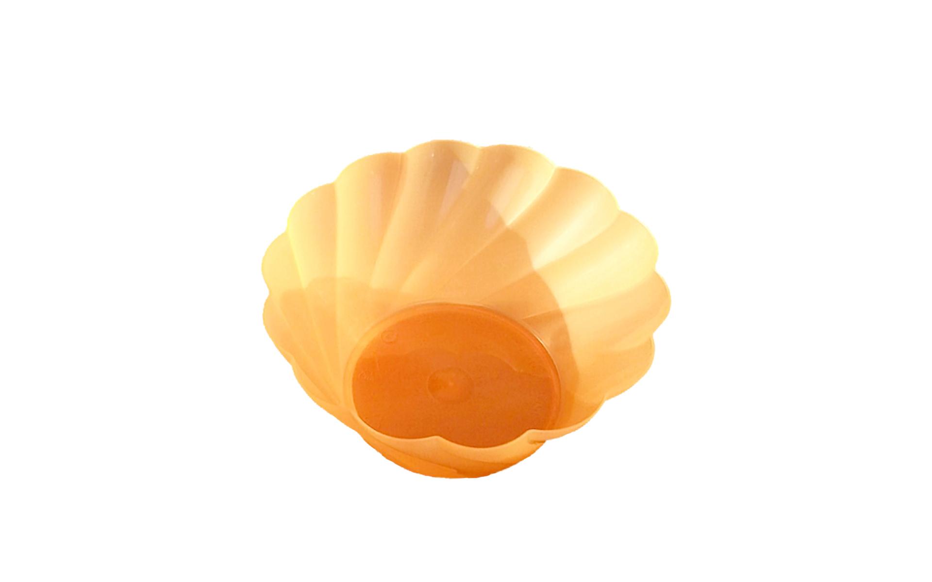 Copa  helado 300 naranja