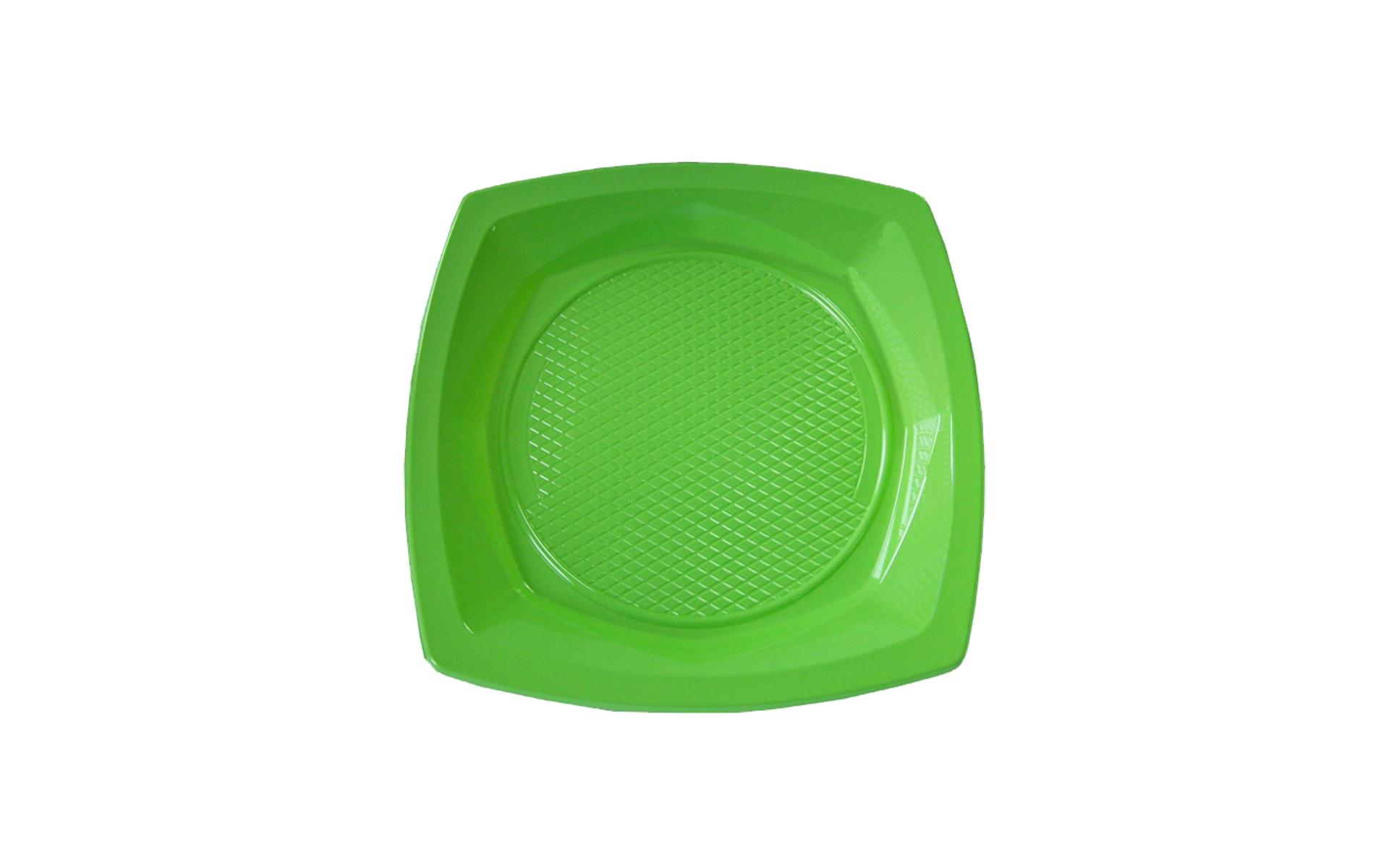 Plato  23  verde pistacho