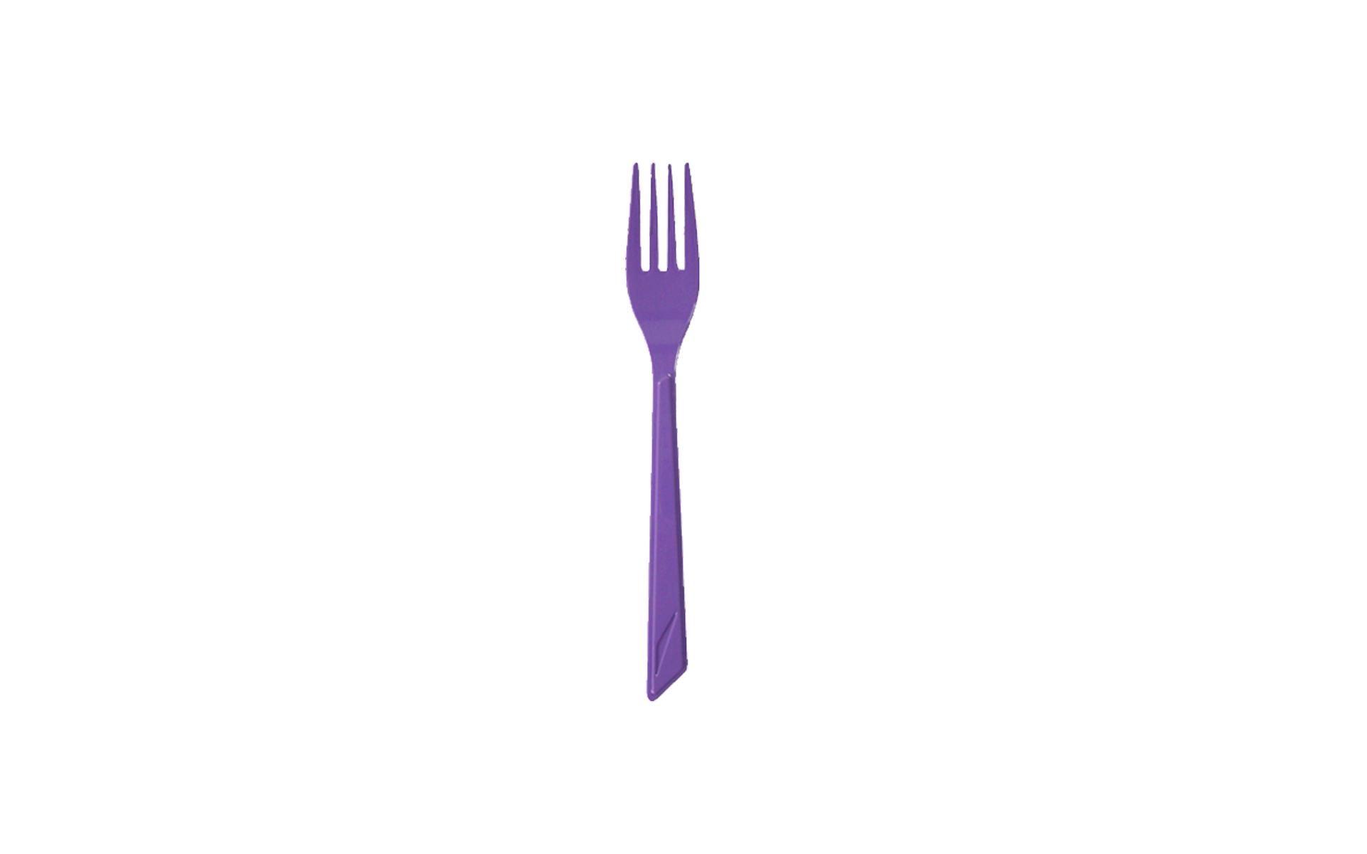 Tenedor lila