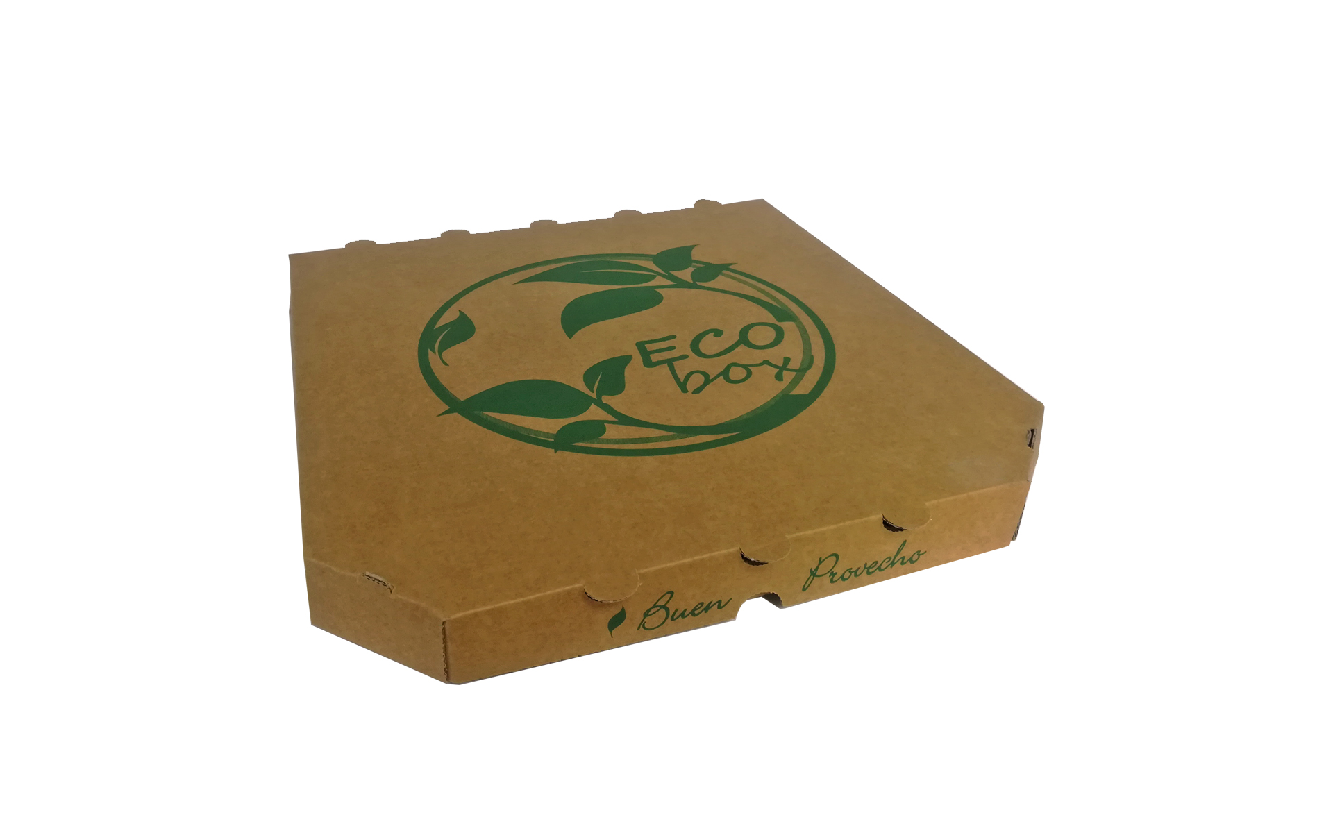 Caja pizza kraft Ecobox 33