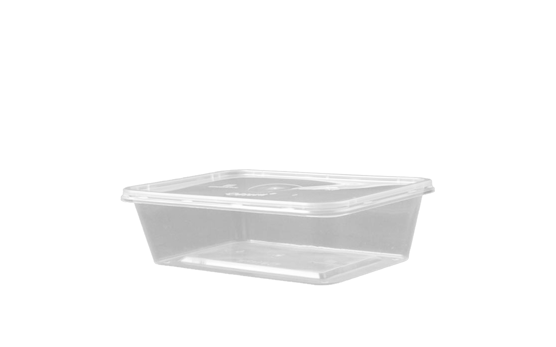 Envase rectangular 750 + tapa