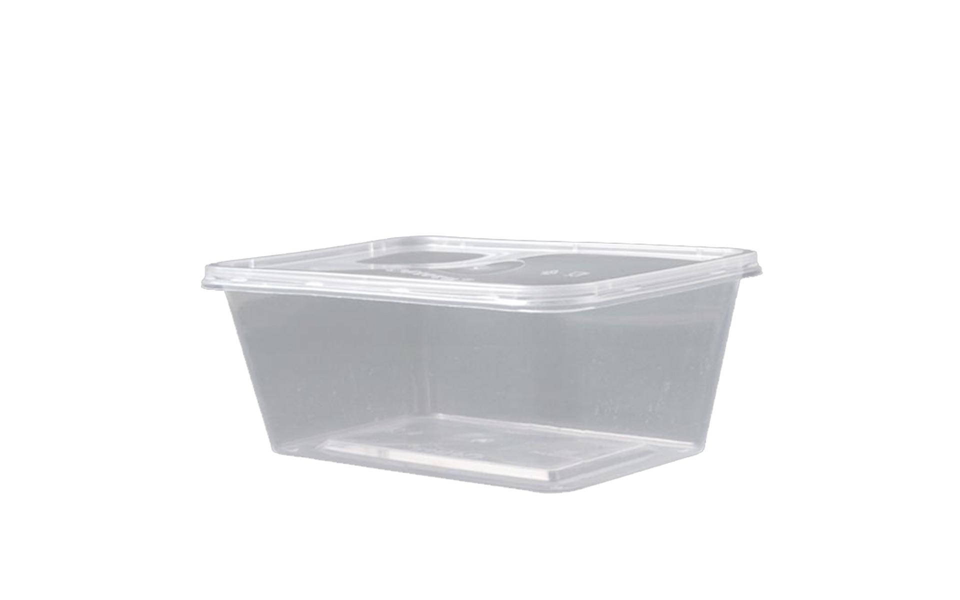 Envase rectangular 1000 + tapa
