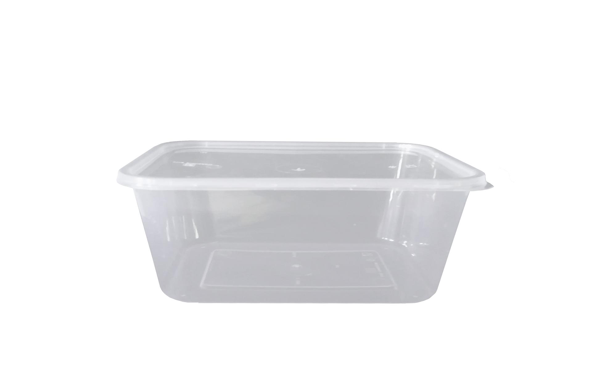 Envase rectangular 2000 + tapa