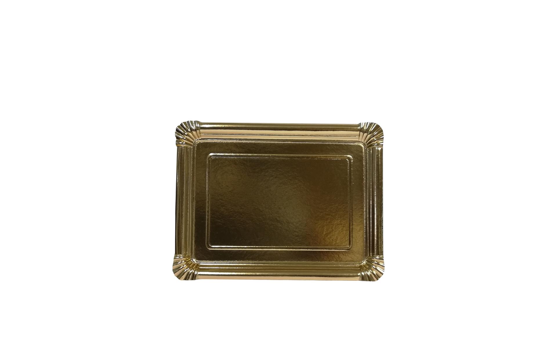 Bandeja llana nº3  oro