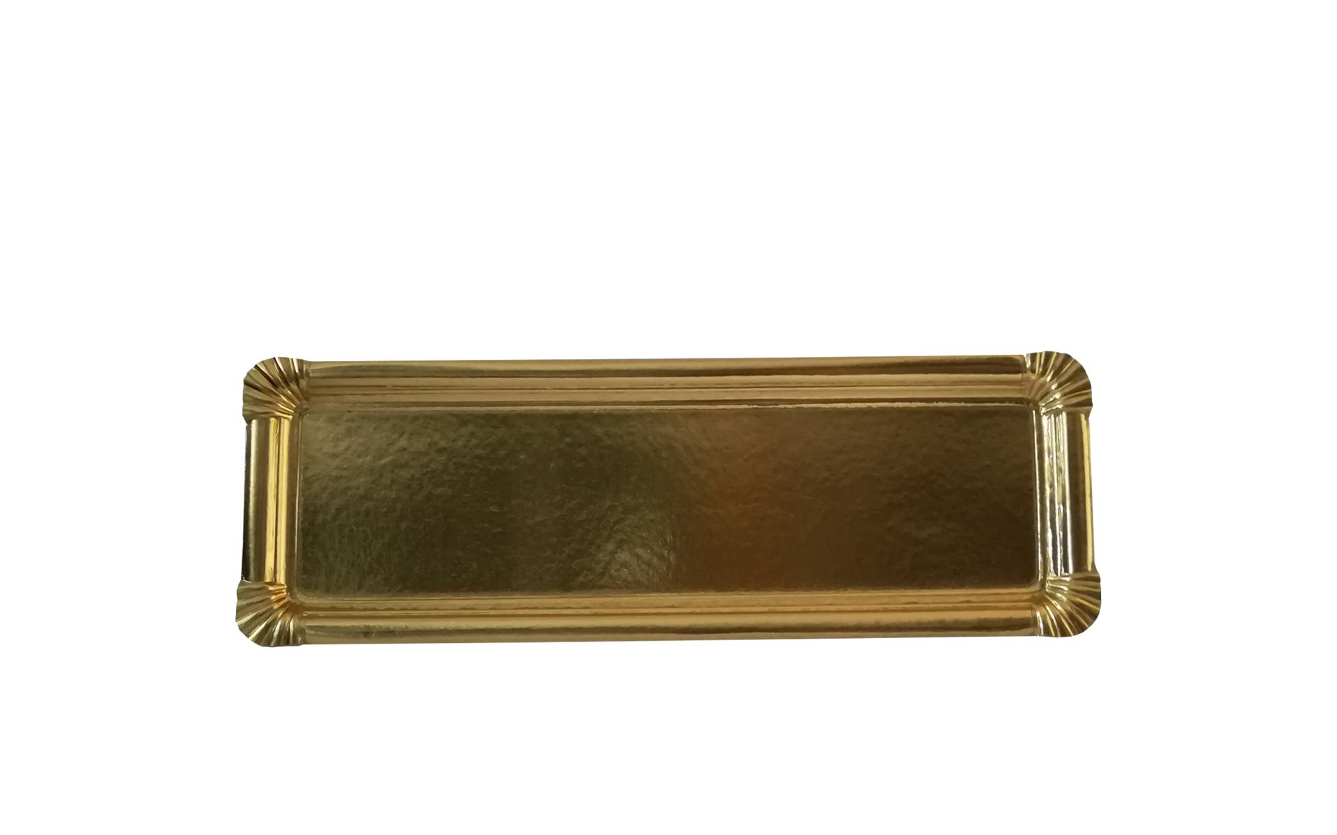 Bandeja tronco  pequeño oro