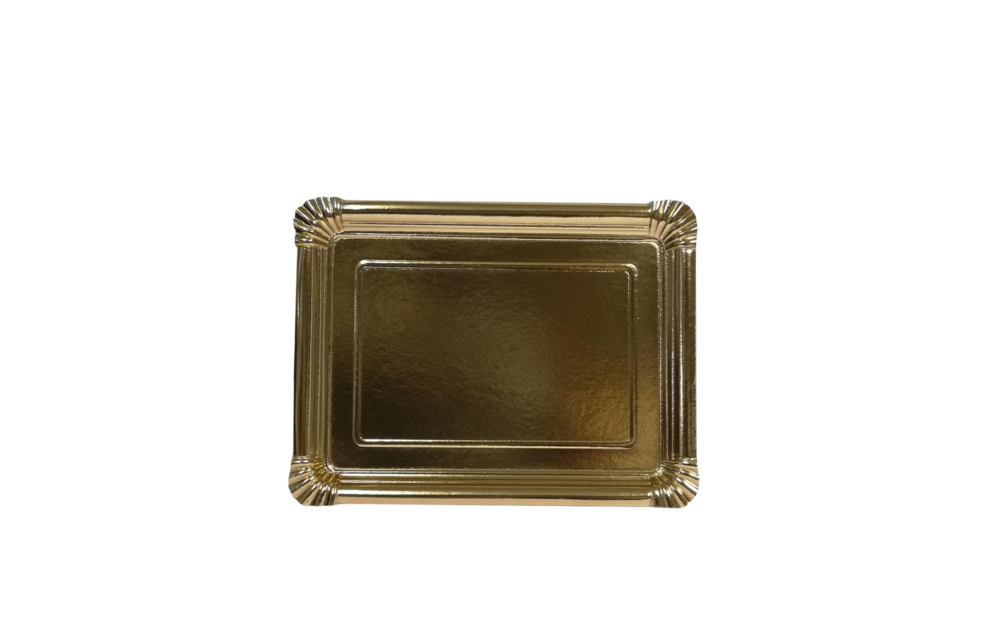 Bandeja llana nº6 oro