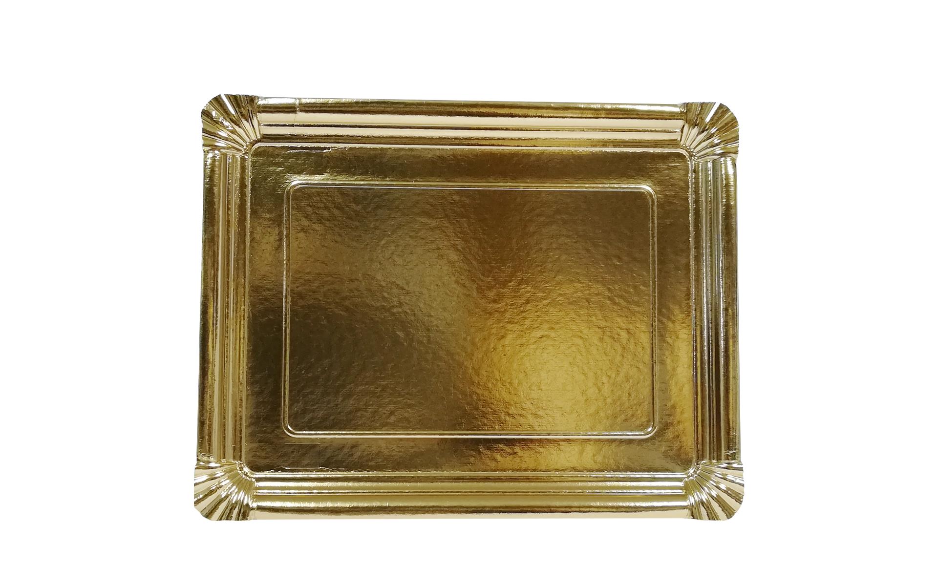 Bandeja llana nº12 oro