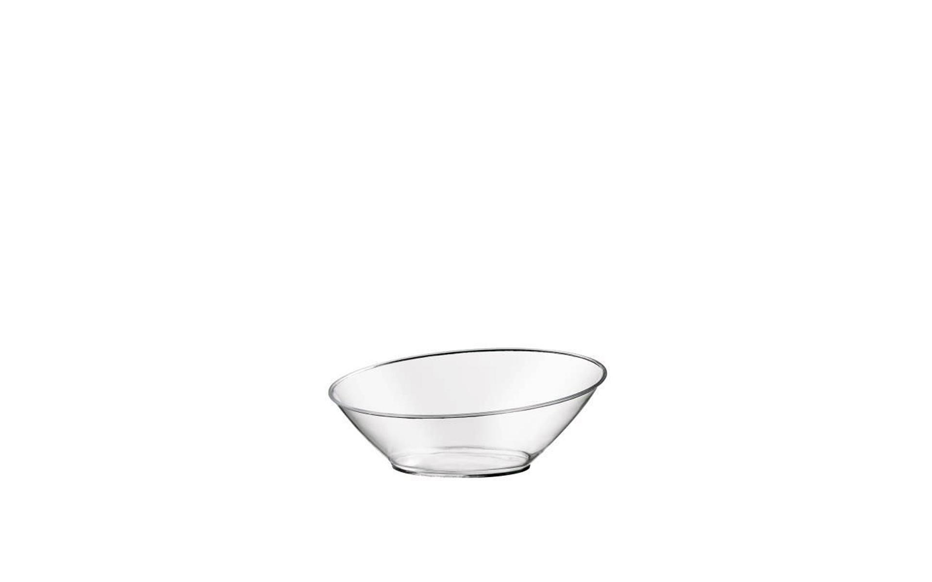 Plato  Oval  transparente