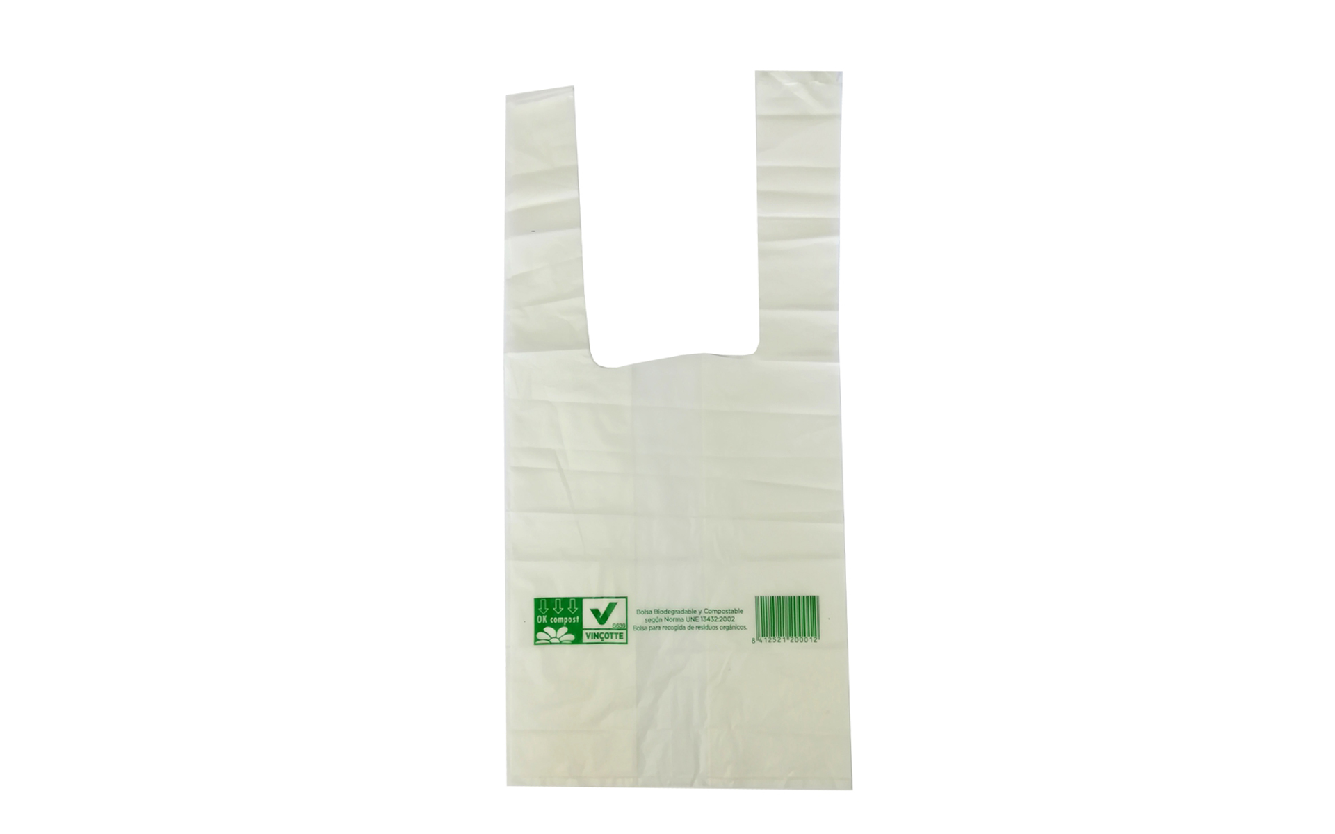 Bolsa compostable asa 30x40