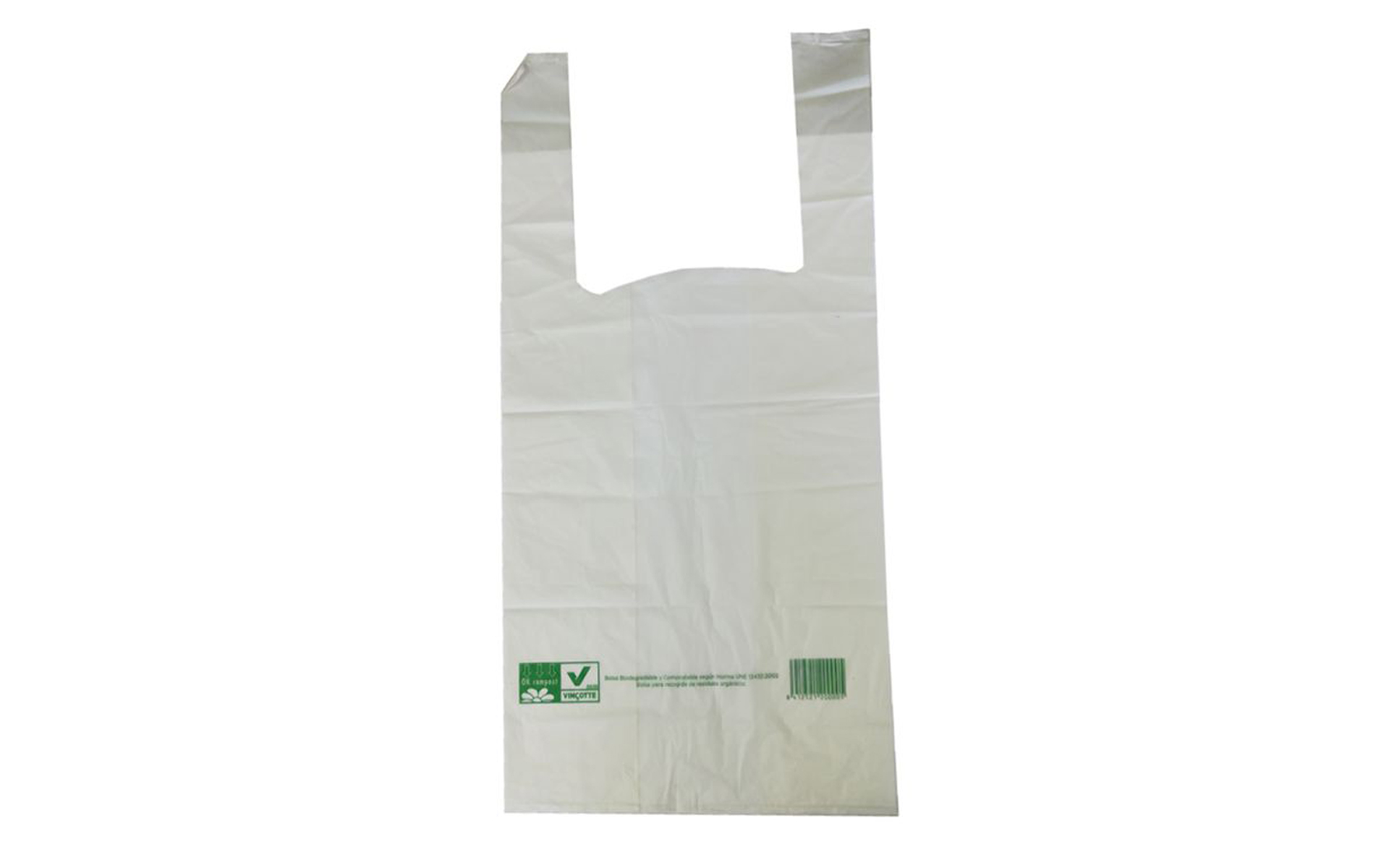 Bolsa compostable asa 40x50