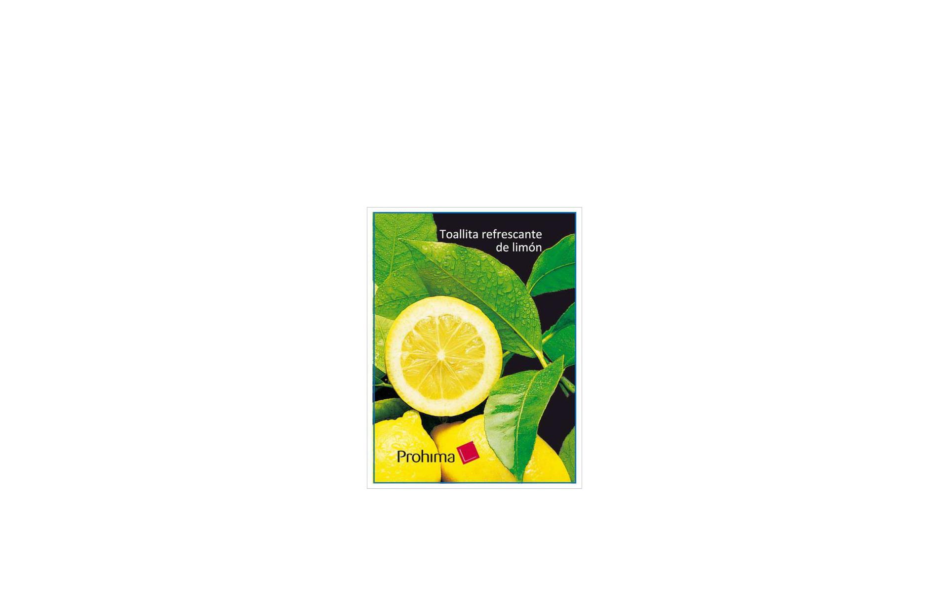 Toallitas de limón C-500
