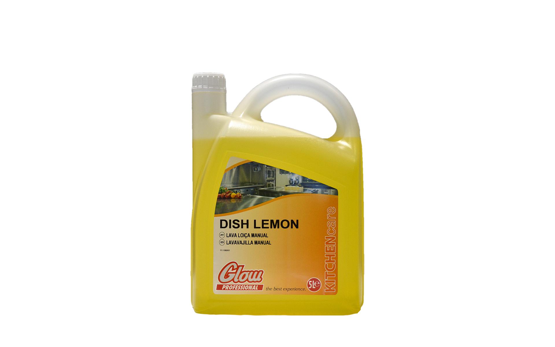 Lavavajillas manual limón 5 litros