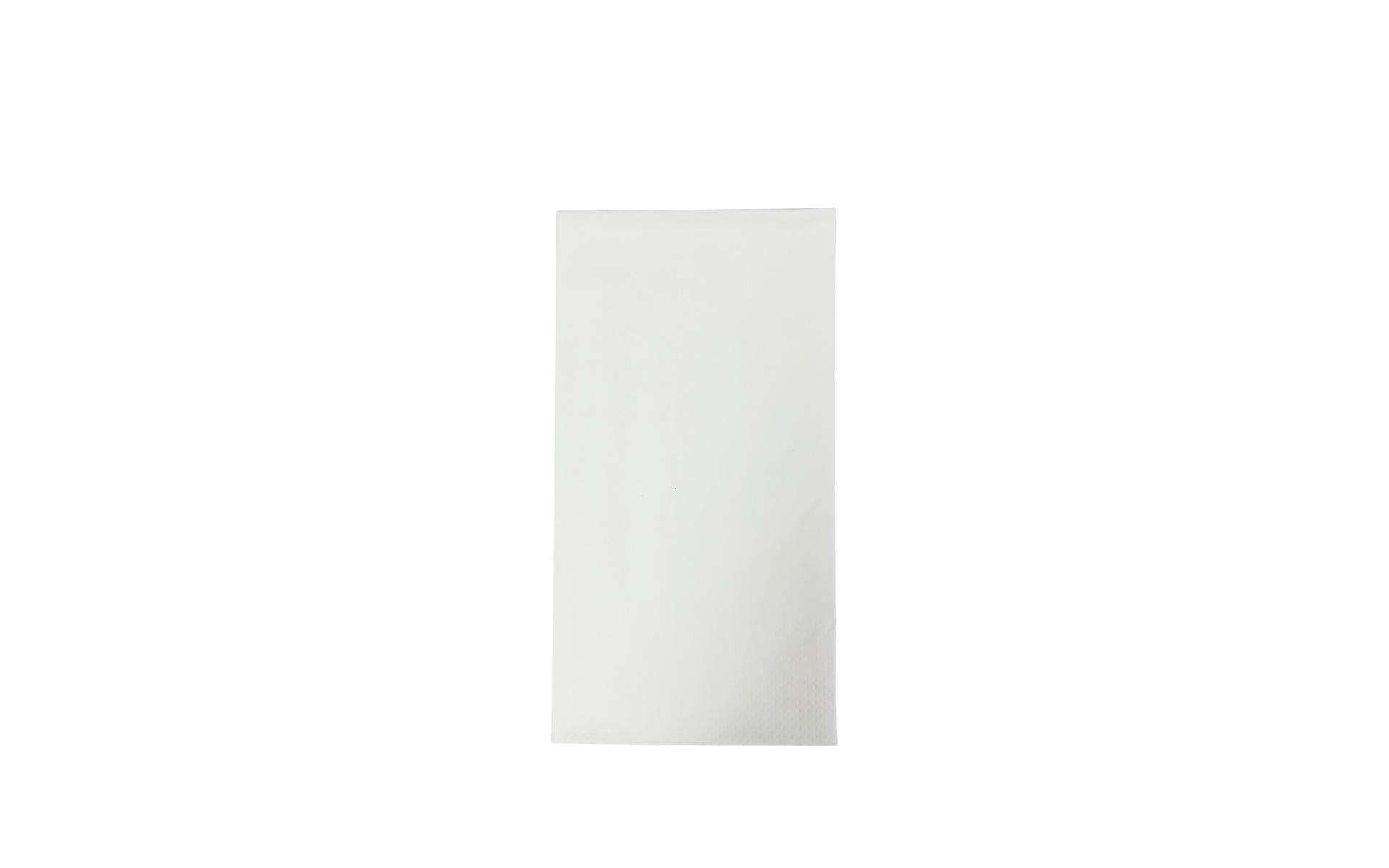 Servilleta 40x40 blanca 1/8