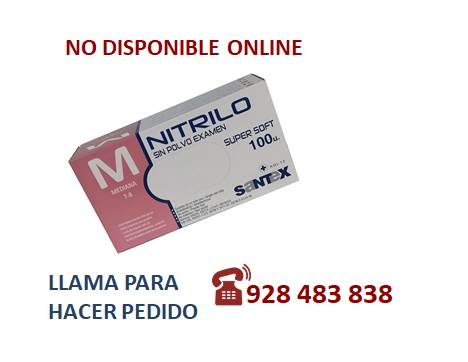 Guante nitrilo light azul M - SÓLO PEDIDO TELEFÓNICO