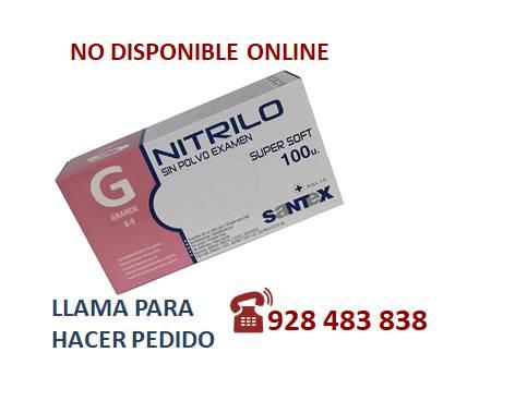 Guante nitrilo light azul G - SÓLO PEDIDO TELEFÓNICO