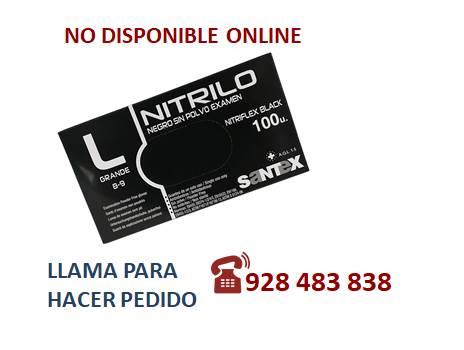 Guante nitrilo light negro G - SÓLO PEDIDO TELEFÓNICO