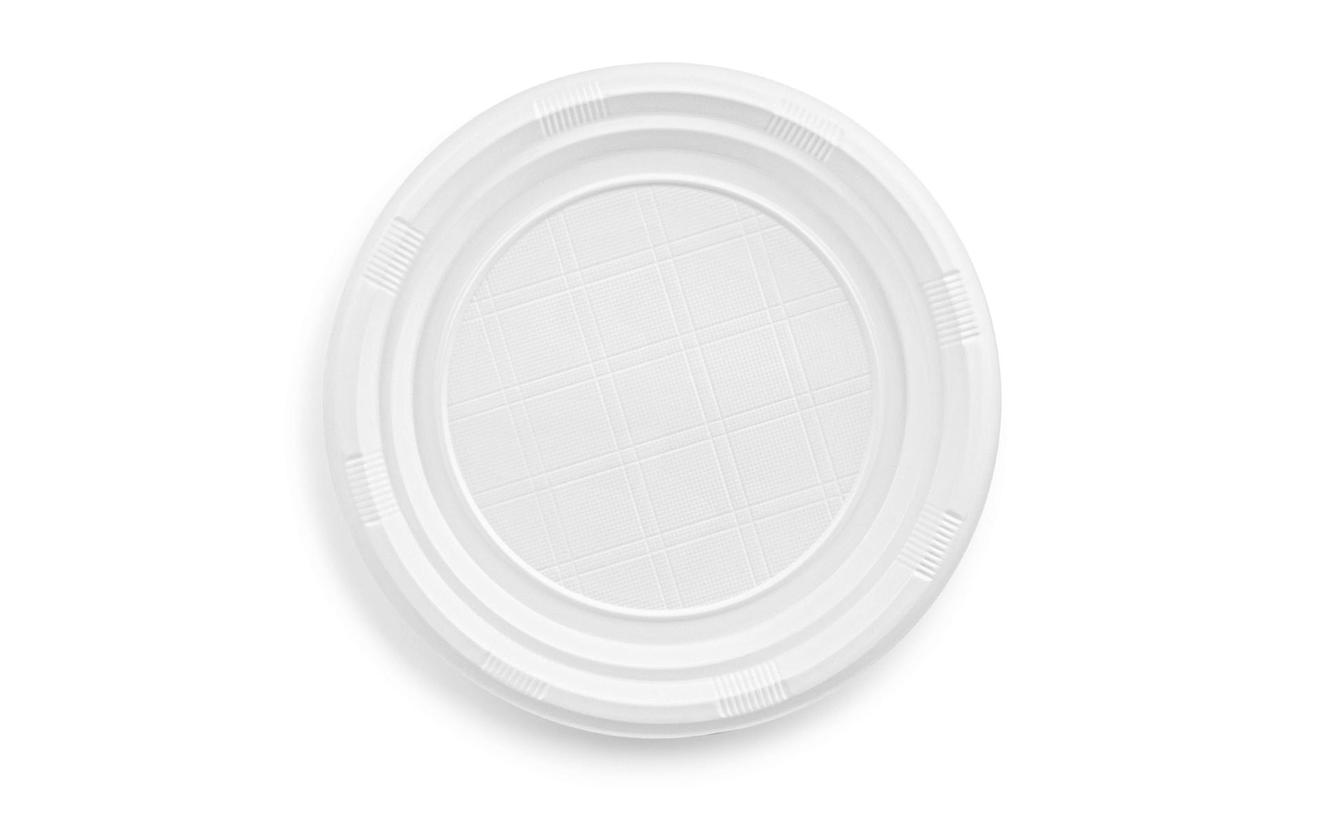 Plato 22 blanco B/100