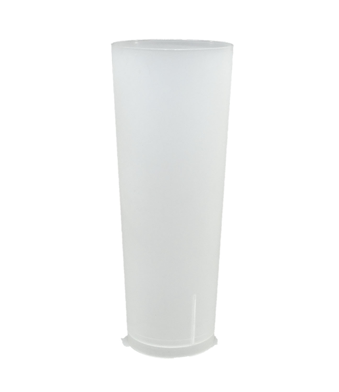 Vaso Tubo Reutilizable ECO 330cc