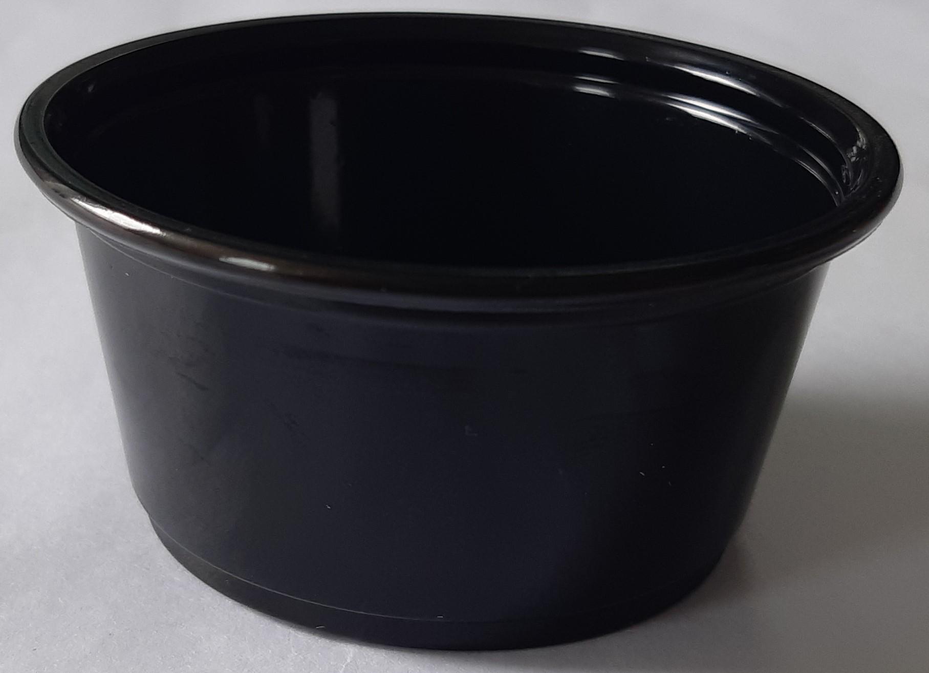 Salsero negro 60ml (2OZ)